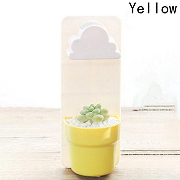 Raining Cloud Hanging Plant Flower Pot Urban Pronto Yellow