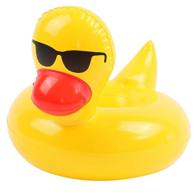 Inflatable Pool and Beach Cup Holders Urban Pronto Sunglasses Duck