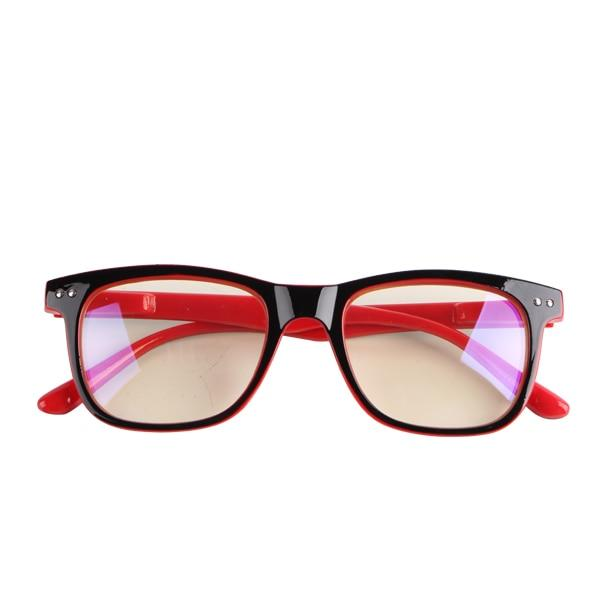 Men's & Women's Blue Light Blocking Anti Eye Fatigue Glasses Urban Pronto Red
