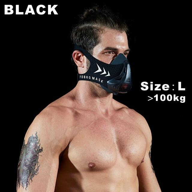 Altitude SportsTraining Fitness Mask Urban Pronto Black L