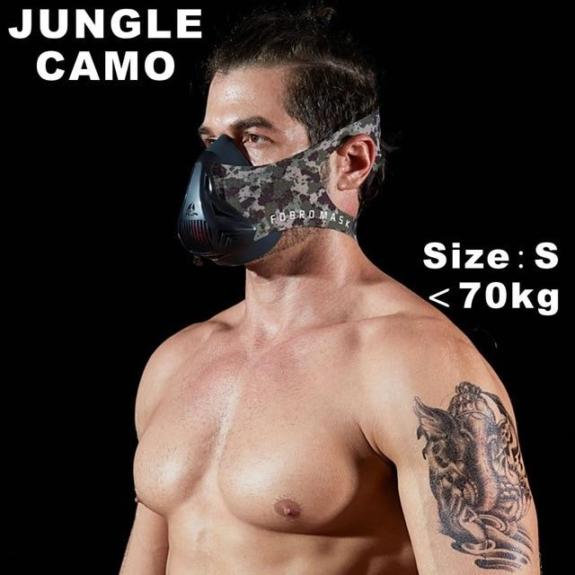 Altitude SportsTraining Fitness Mask Urban Pronto Jungle Camo S