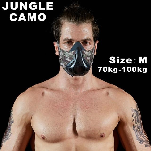 Altitude SportsTraining Fitness Mask Urban Pronto Jungle Camo M