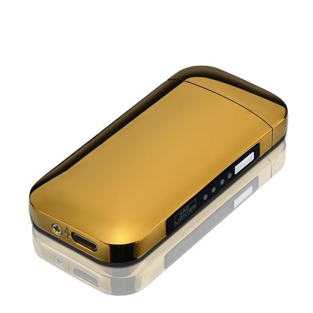 Rechargeable USB Lighter Urban Pronto Gold