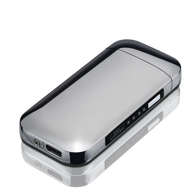 Rechargeable USB Lighter Urban Pronto Silver