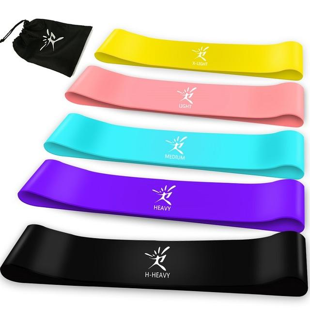 Latex Resistance Fitness Bands Urban Pronto 5 Bands