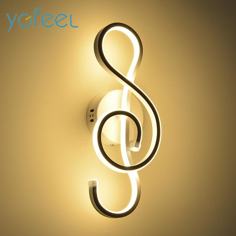 Treble Clef Wall Lamp Urban Pronto