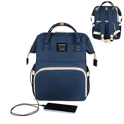 Mummy Bag Urban Pronto Dark Blue with USB