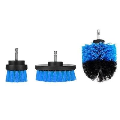 Power Scrubber Drill Brush Kit Urban Pronto Blue 3pcs