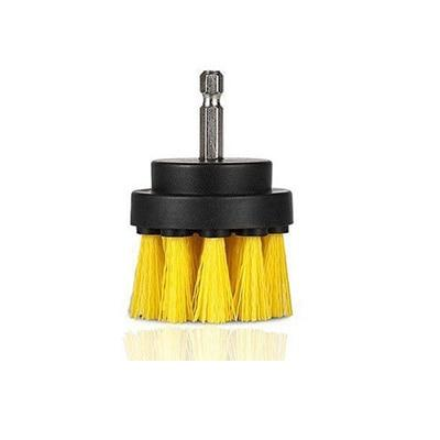 Power Scrubber Drill Brush Kit Urban Pronto Yellow 2 inch