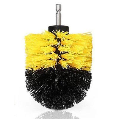 Power Scrubber Drill Brush Kit Urban Pronto Yellow 3.5 inch