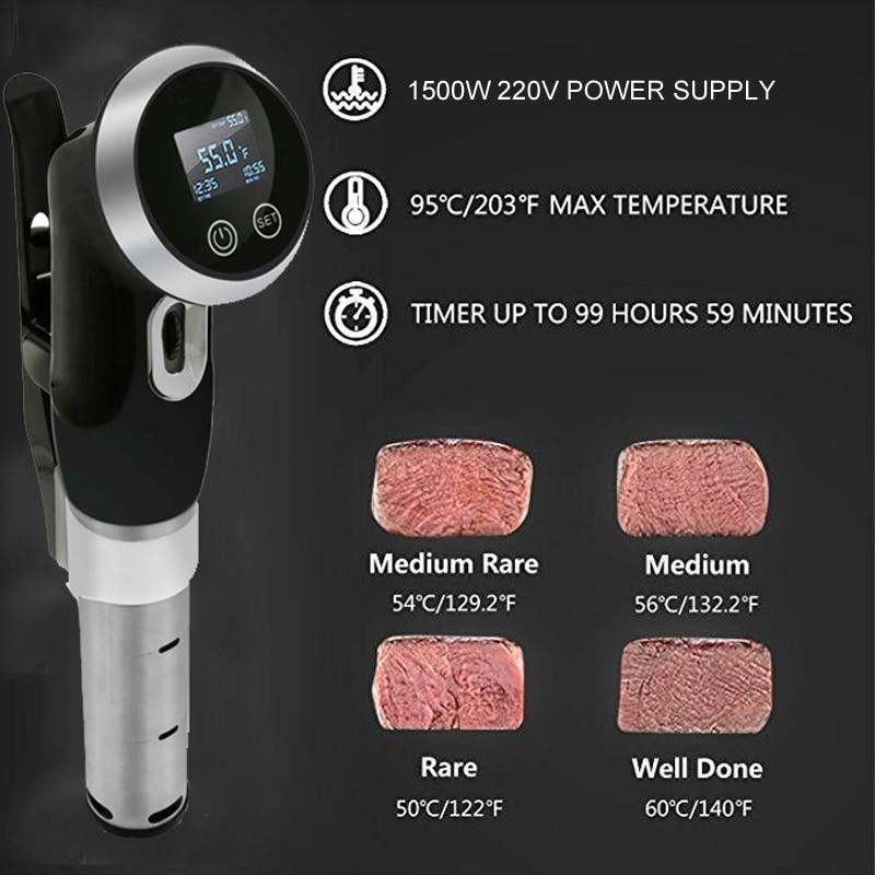 Stainless Steel 1500W Precision Cooker Immersion Circulator Urban Pronto