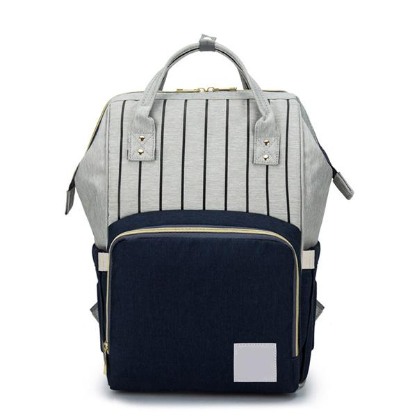 Mummy Bag Urban Pronto Dark Blue Grey Mixed
