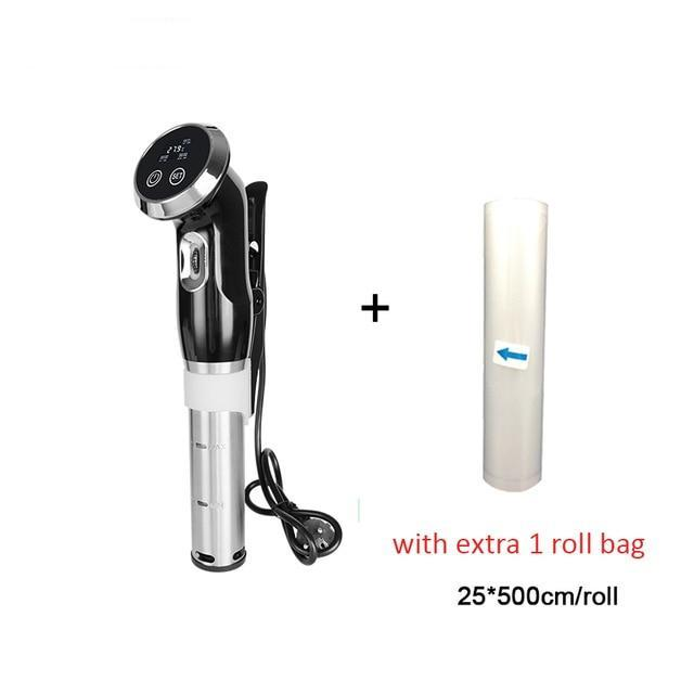 Stainless Steel 1500W Precision Cooker Immersion Circulator Urban Pronto sous vide with 1roll US
