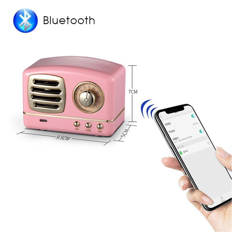 Retro Vintage Radio Bluetooth Speaker Urban Pronto