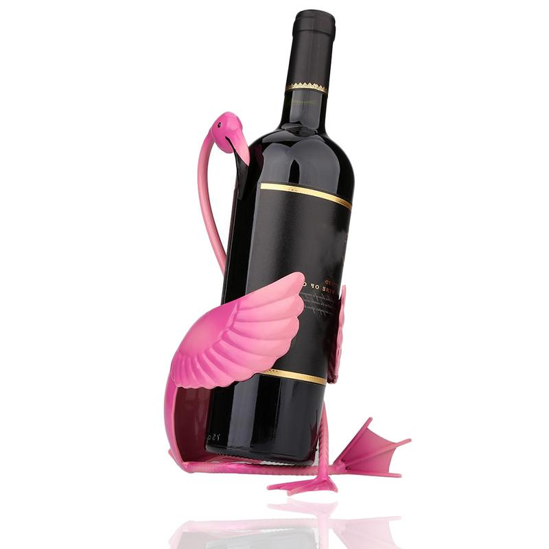 Flamingo Wine Bottle Holder Urban Pronto