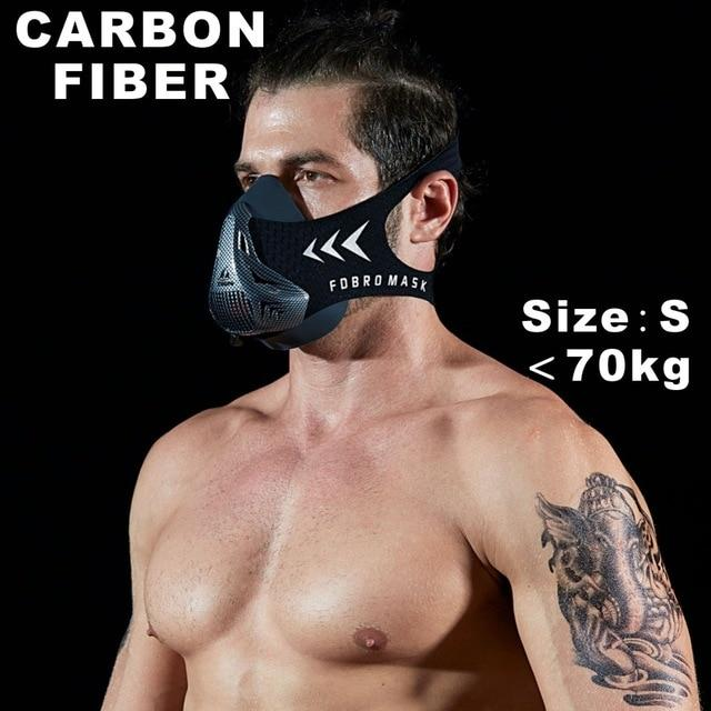 Altitude SportsTraining Fitness Mask Urban Pronto Carbon fiber S