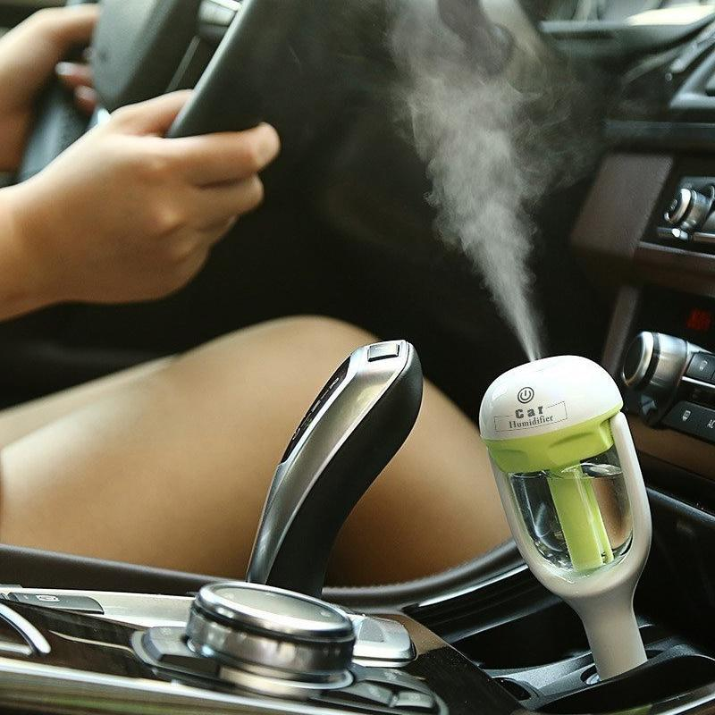 12V In-Car Steam Air Humidifier Aroma Oil Diffuser