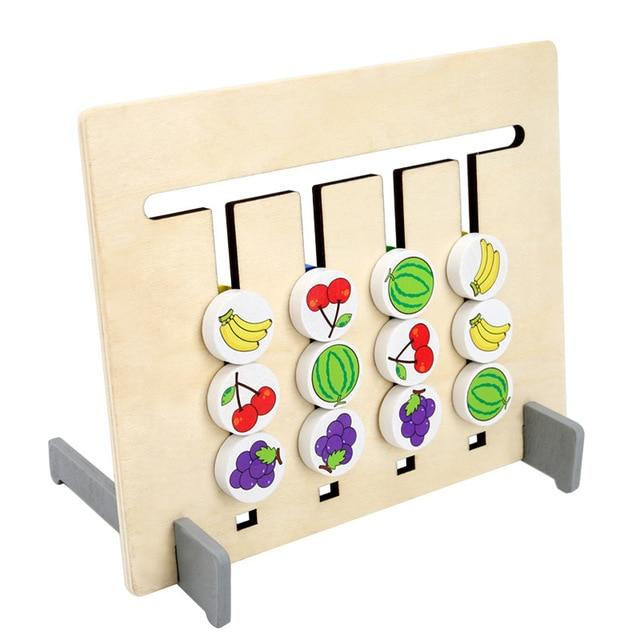Montessori Fruit And Color Matching Game Urban Pronto Default Title