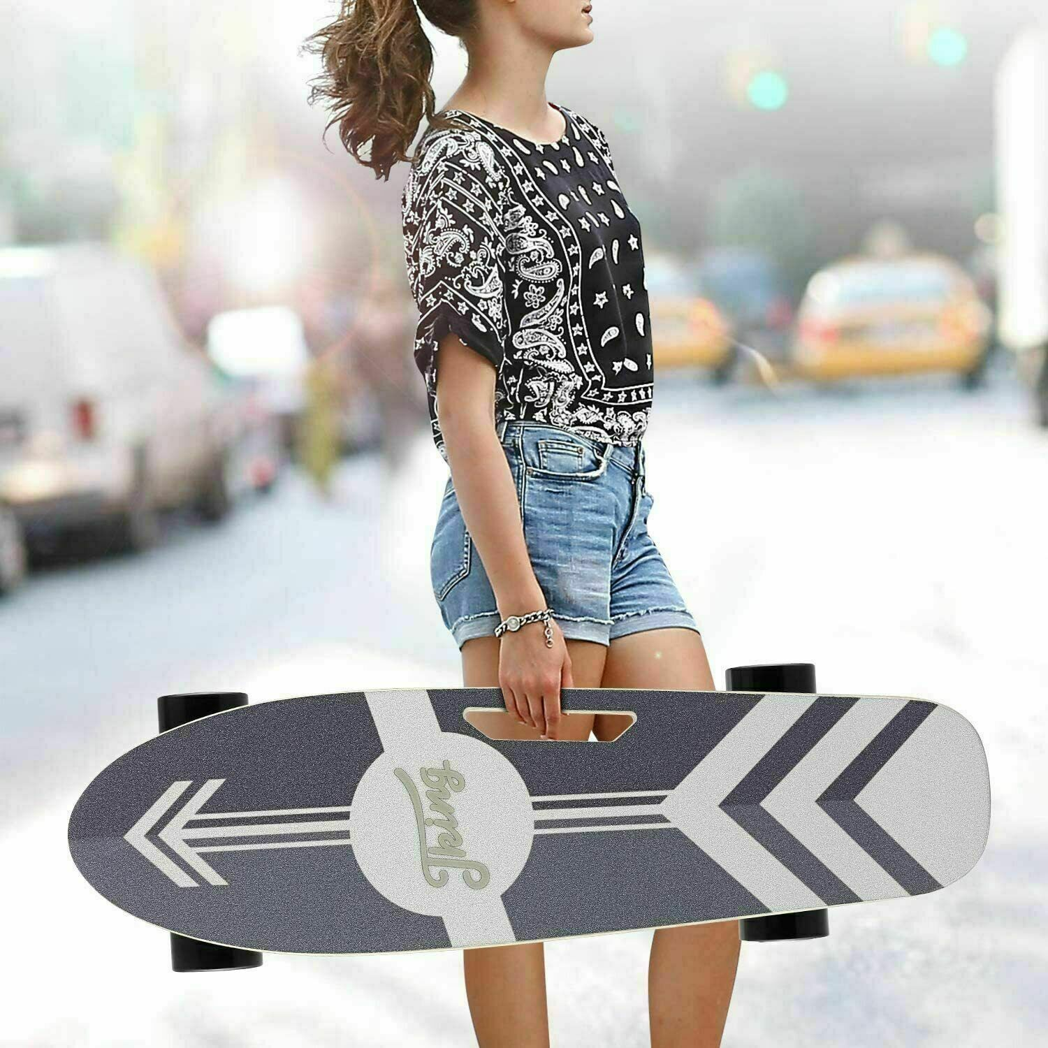 Electric Skateboard Power Motor Cruiser With Wireless Remote