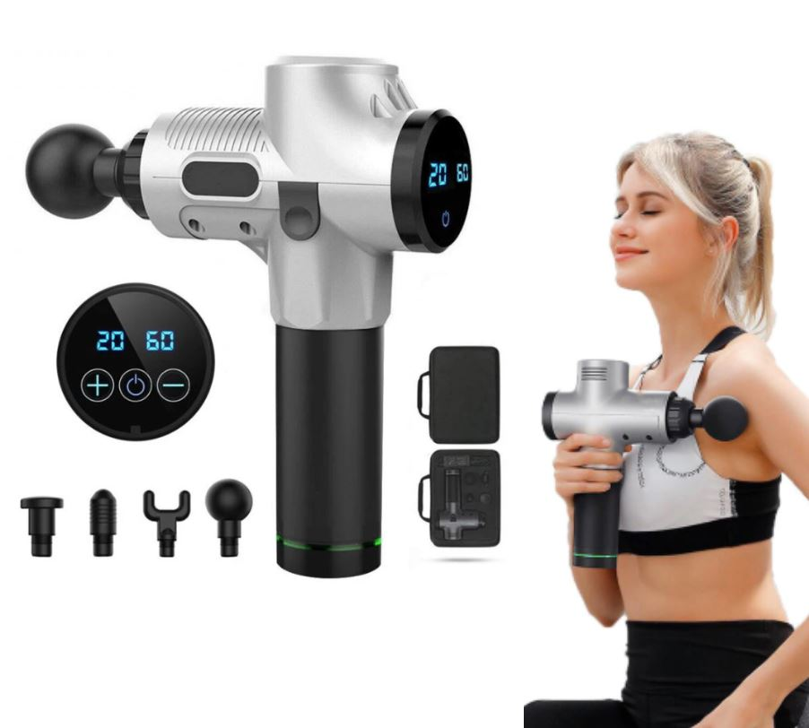 LCD Display Body Massage Gun
