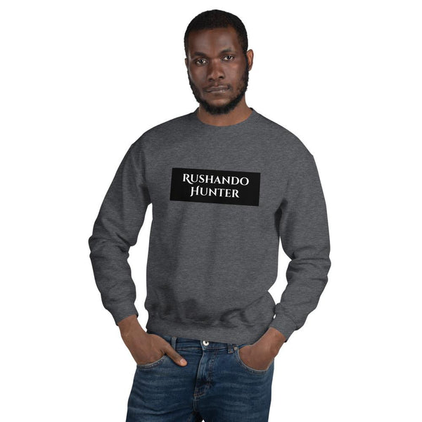 Rushando Hunter Unisex Sweatshirt T-Shirt Urban Pronto Dark Heather S