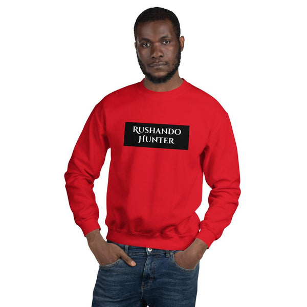 Rushando Hunter Unisex Sweatshirt T-Shirt Urban Pronto Red S