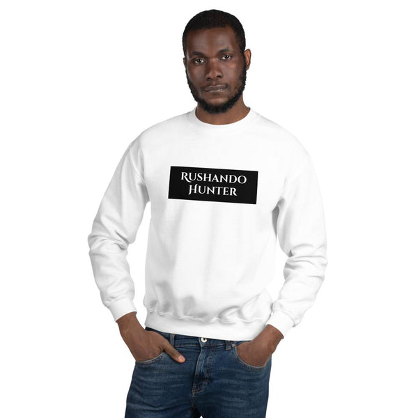 Rushando Hunter Unisex Sweatshirt T-Shirt Urban Pronto White S