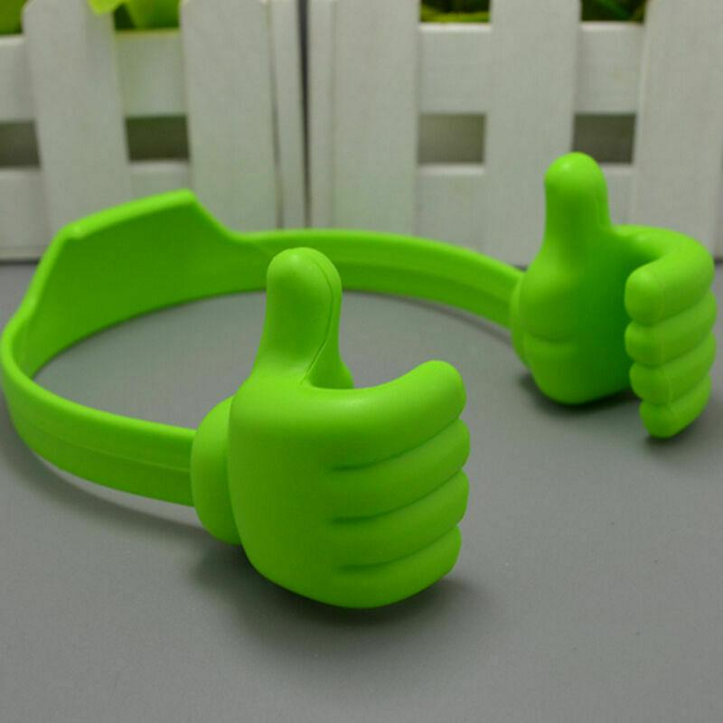 Thumbs-up Universal Adjustable Lazy Phone Stand Holder danyounger Green