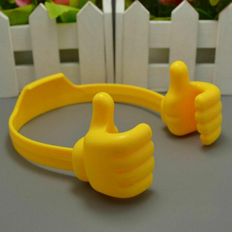Thumbs-up Universal Adjustable Lazy Phone Stand Holder danyounger Yellow