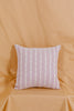 Pink & White Stitched Pillow