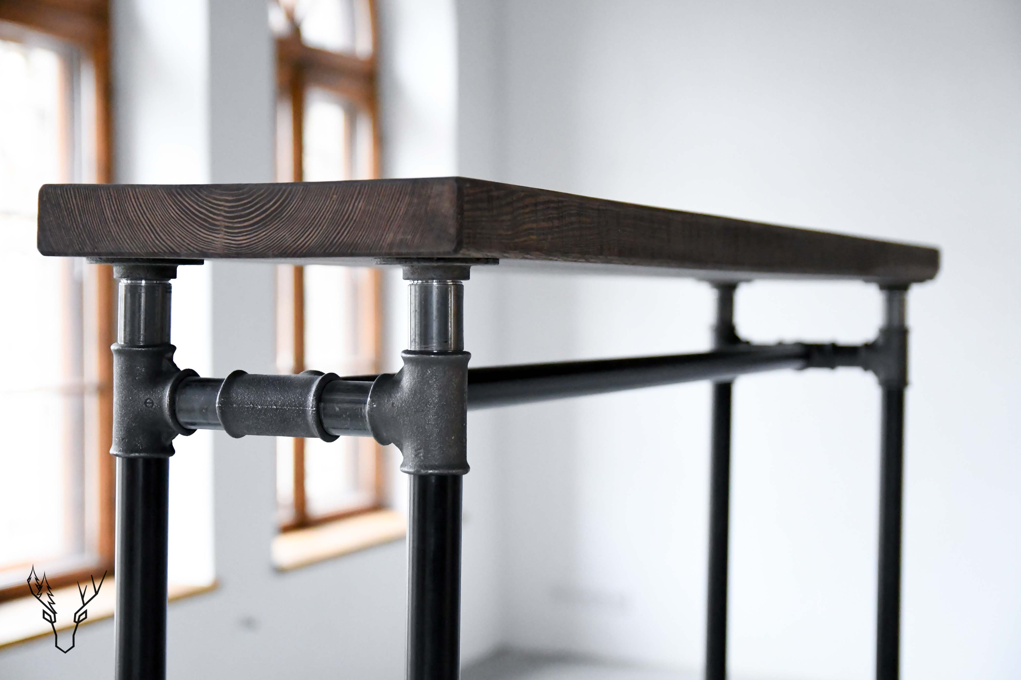 "Clothing Rail Pipes 1"" № Three - Wild Wood Factory"