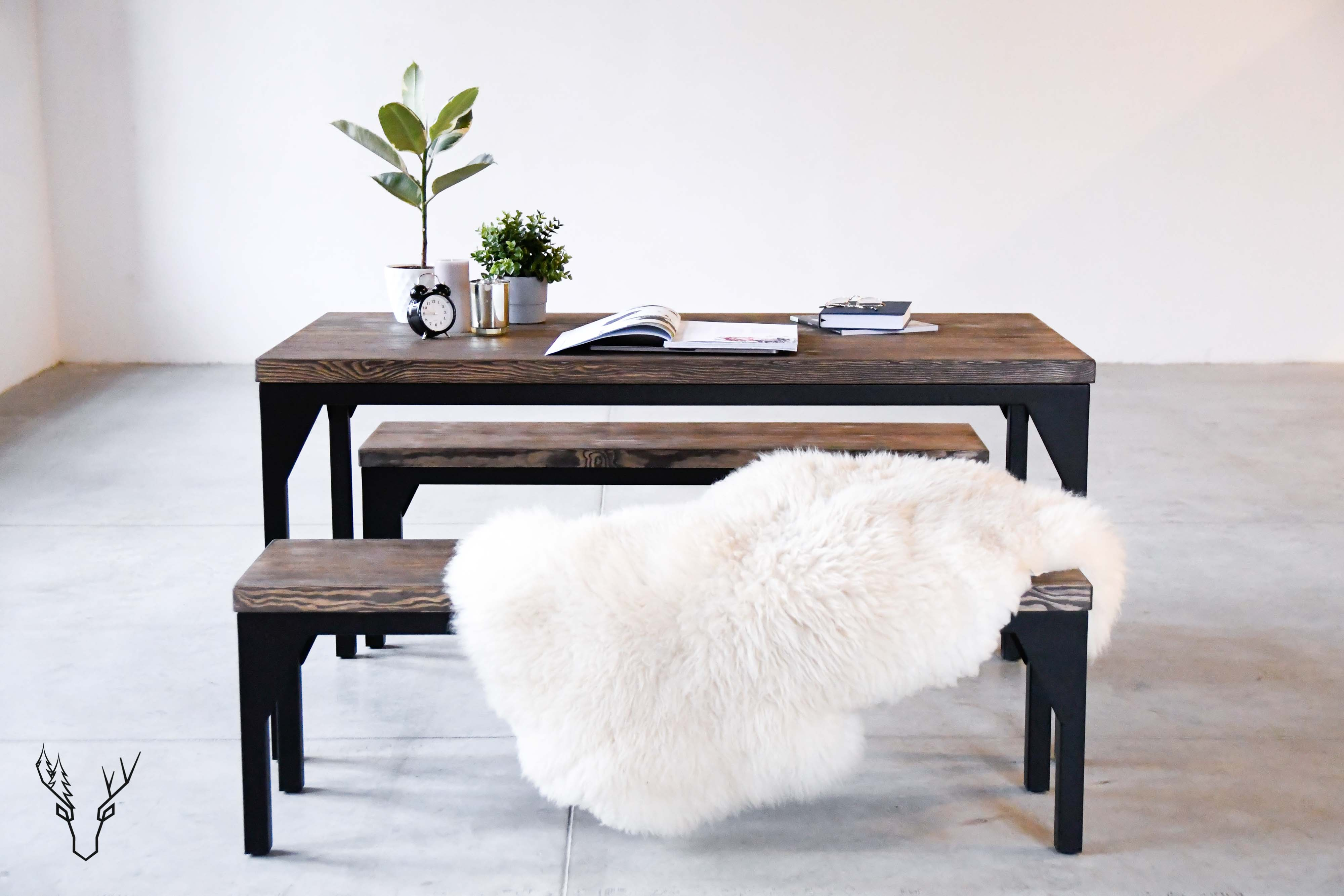 Dining Table № Three - Wild Wood Factory