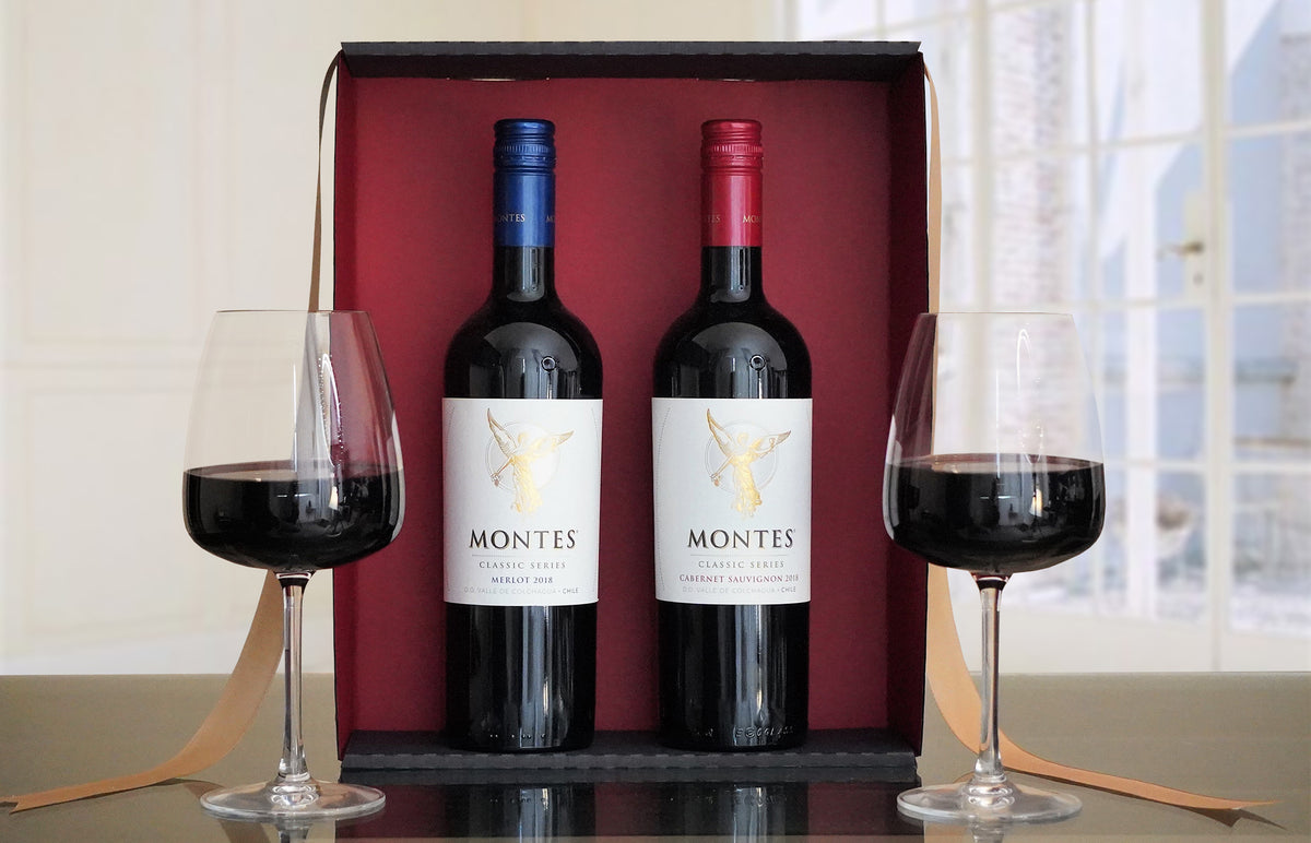 Montes Red Wine Duo Gift Set