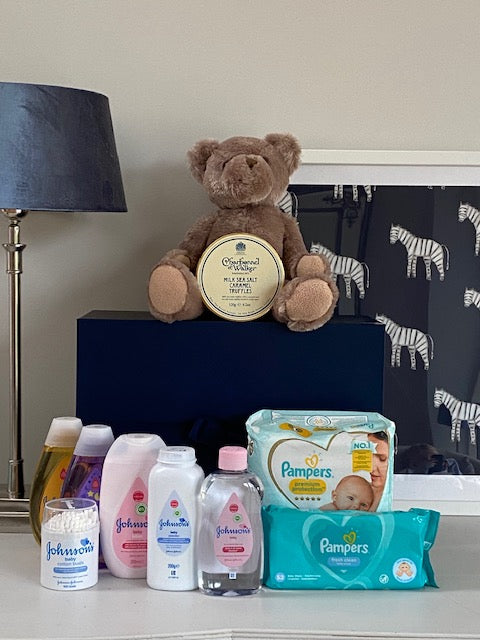 Baby Essentials and Luxury Truffles Hamper