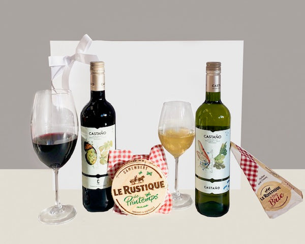 Organic Wine & Cheese Gift Hamper