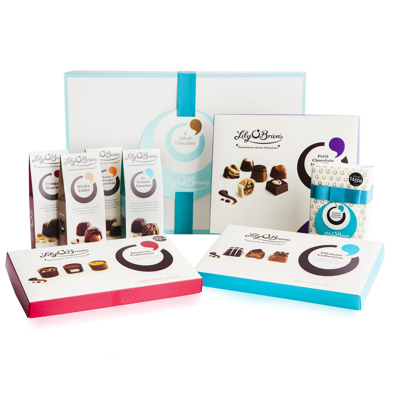 Chocolate Hamper Box to Spoil, 8 Collections, 1438g