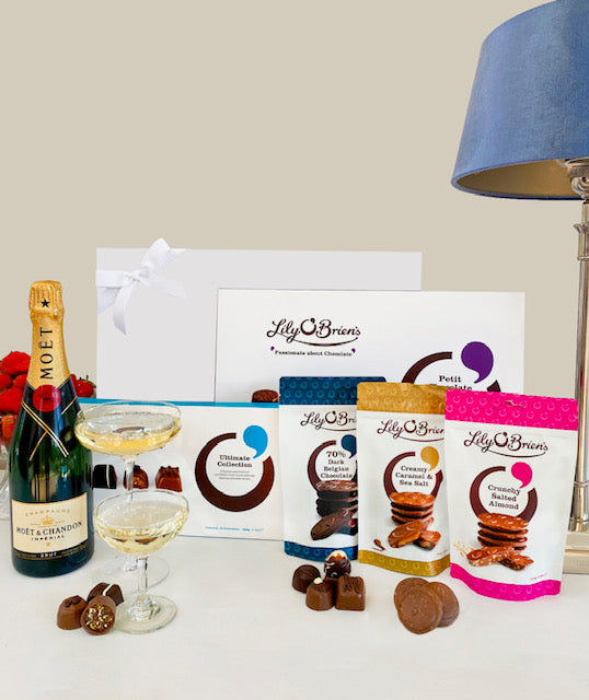 Champagne & Chocolate Indulgence Hamper