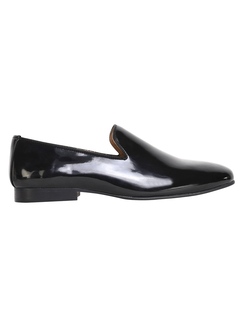Classic Patent Black Slip On