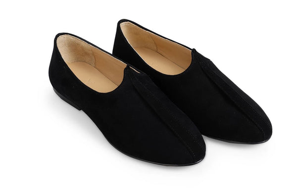 Midnight Suede Mojri