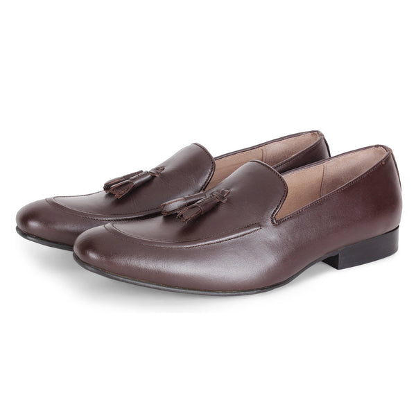 Cocoa Nappa Loafer