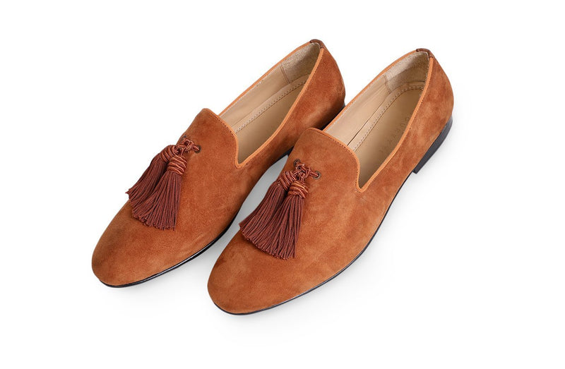 Ecru Royce Tassel Loafer