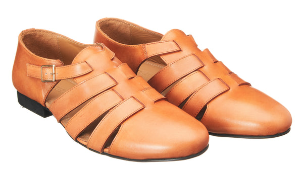 Tan Roman Loafer