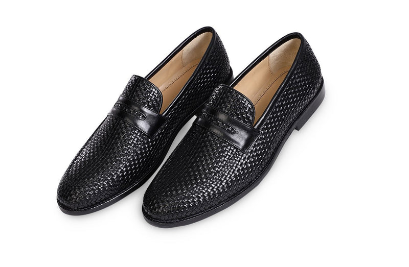 Midnight Agudo Saddle Loafer
