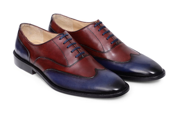 Navy-Maroon Richard