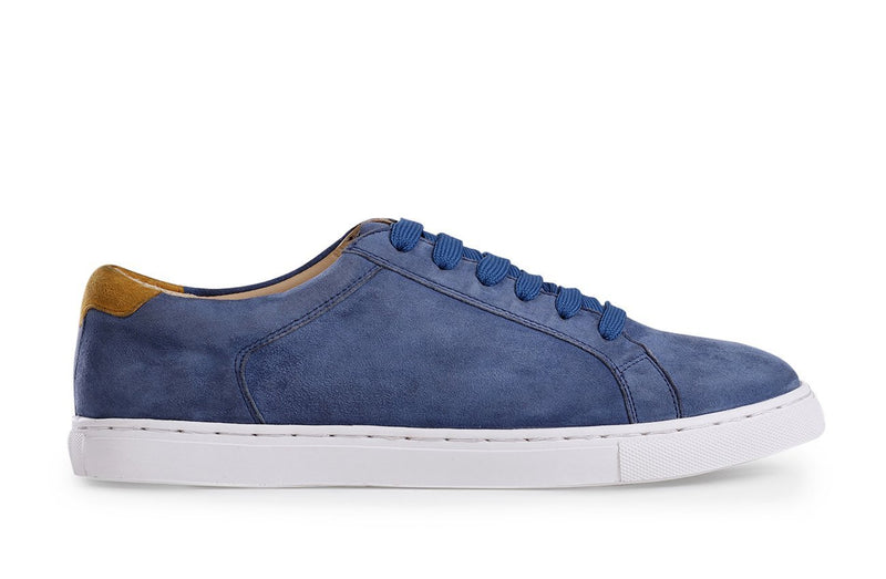 NAVY SUEDE GRAVITY LOW-TOP