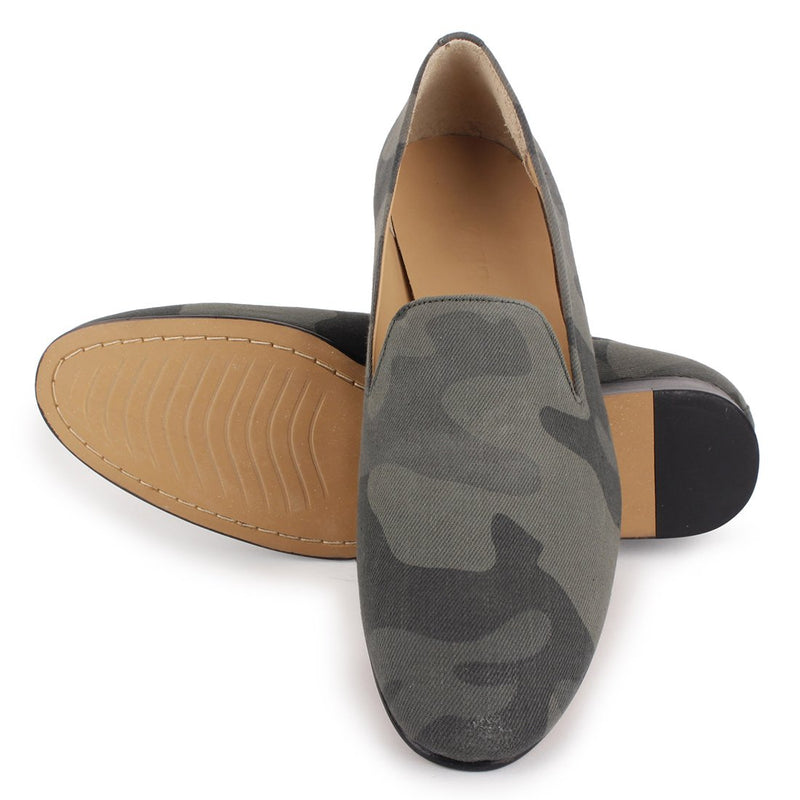 Olive Camo Slippers