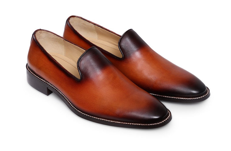 Orange Fertel Loafer