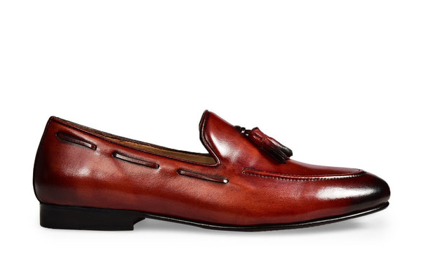 Red Galet Loafer