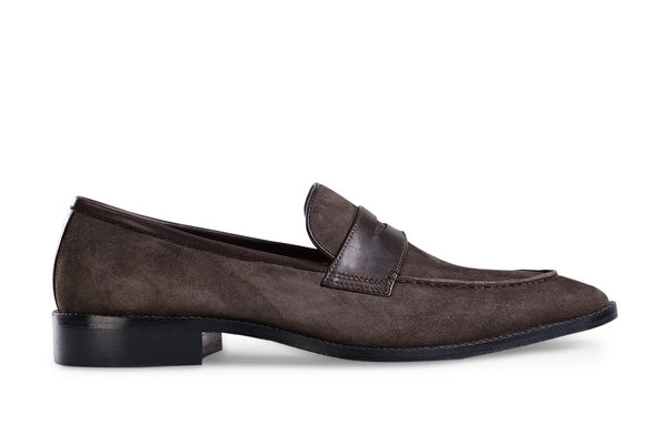 Tobacco Agudo Suede Loafer