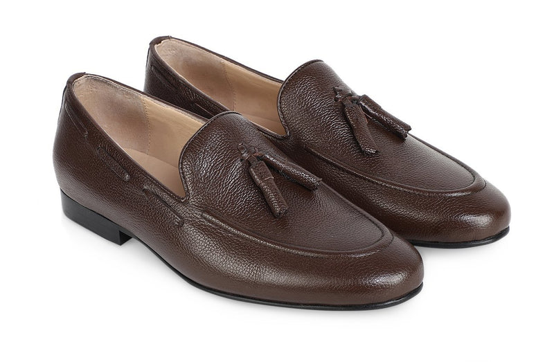 Tobacco Classic Tassel Loafer